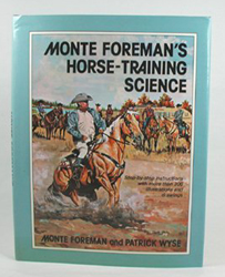 used hardbound book - Monte Foreman's Horse-Training Science