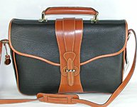 Authentic Dooney and Bourke All Weather Leather R12 Legal Briefcase