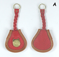 Authentic Dooney and Bourke All Weather Leather Original PB2 Key Fob
