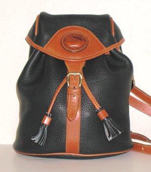 Sherpa,Style Drawstring Backpack Dooney \u0026 Bourke All Weather
