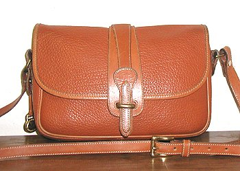 98dead660fda Equestrian Handbag R54 Dooney   Bourke Vintage British Tan Large