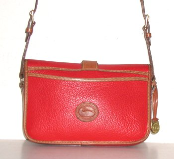 Equestrian Handbag Large Original R54 Dooney & Bourke Vintage Red ...
