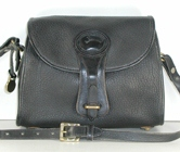 Authentic Dooney and Bourke All Weather Leather Essex P25 Shoulder Bag black