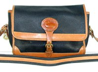 Authentic Dooney & Bourke All Weather Leather large Surrey bag R95