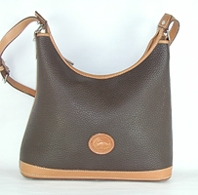 Authentic Dooney and Bourke All Weather Leather Large Hobo Bag Bag R152