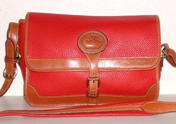 Dooney And Bourke Red Shoulder Bag 110
