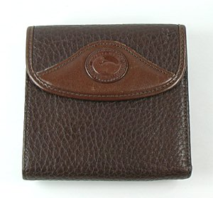 Authentic dooney bourke credit card wallet w76 large Cedar credit