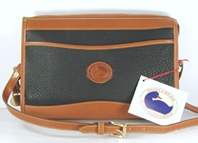 Authentic Dooney and Bourke All Weather Leather Small Vintage Zip Top