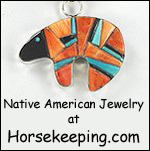A Native American Jewelry from Horsekeeping.com