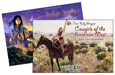 Leanin tree leaning tree heart of the west blank greeting cards leanin tree greeting card from horsekeeping m4hsunfo