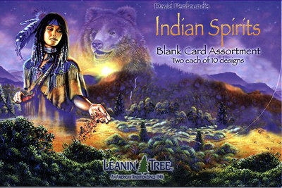 Leanin tree leaning tree western native american greeting cards leanin tree greeting card from horsekeeping m4hsunfo