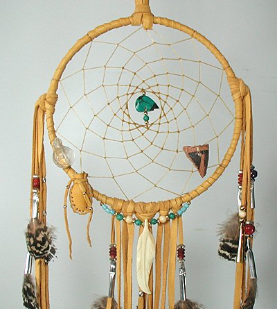 Dream Catchers Made By Native Americans Native American Dreamcatcher Cynthia Whitehawk Apache 40 inch bear 10