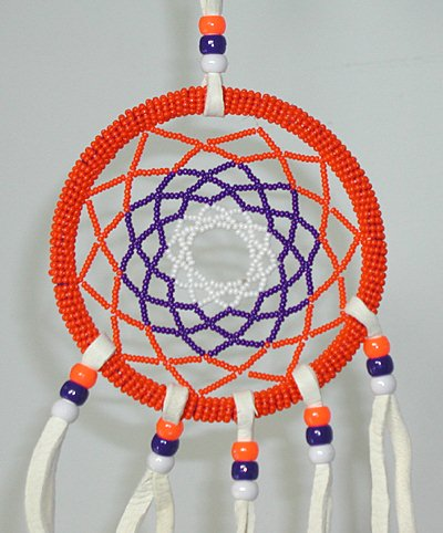 Authentic Dreamcatcher Native American Hand Made Delectable Native American Beaded Dream Catchers