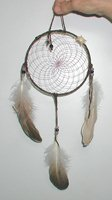 Authentic Native American Navajo Dreamcatcher by Mae Stone