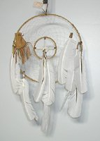 Authentic Native American Navajo Dreamcatcher by Cybill Smith