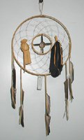 Authentic Native American Navajo Dreamcatcher by Curtis Bitsui