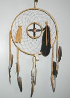 Authentic Native American Navajo Dreamcatcher by Cheryl & Eddie Hill