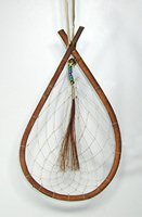 Authentic Native American Tear Drop Willow Dreamcatcher 8 x 14 inch diameter by Lakota Alan Monroe