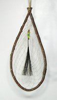 Authentic Native American Willow Dreamcatcher 6 x 15 inch diameter by Lakota Alan Monroe