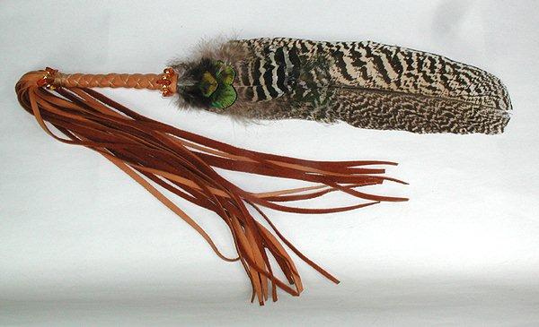 Native American Prayer Feather Smudge Wand Raven Cynthia