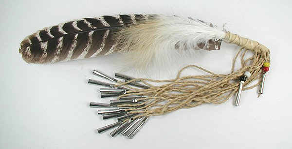 Smudge Fan Feather