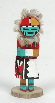 Native American kachina doll Badger Loretta Multine Navajo Hopi ...