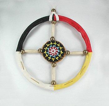 Oglala Lakota Medicine Wheel Authentic Native American