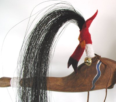 Lakota Horse Dance Stick Native American Oglala Alan