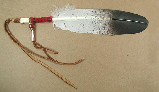 Oglala Lakota Turkey Feather Styled Like Eagle