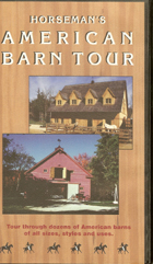 American Barn Tour  VHS tape
