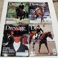 vintage and collectible horse magazines Dressage Today 1998