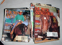 Horse and Rider - vintage horse magazines from 26 issues