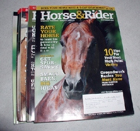 Horse and Rider - vintage horse magazines from 2008-2009 FREE