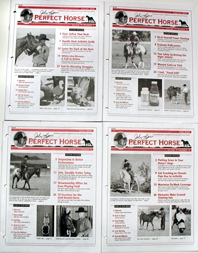 vintage and collectible horse magazines - John Lyon's Perfect Horse 1998