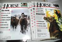 The Horse - vintage horse magazines from 1997-1999 13 issues