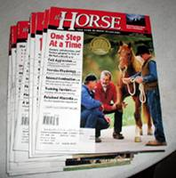 The Horse - vintage horse magazines from 2003 12 issues