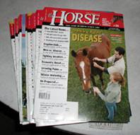 The Horse - vintage horse magazines from 2005 12 issues