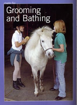 Horse Care for Kids by Cherry Hill - excerpt: Grooming and Bathing