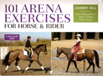 101 Arena Exercises, A Ringside Guide for Horse and Rider book cover