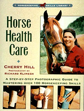 Horse Health Care by Cherry Hill paperback book