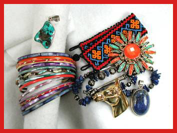 Native American Indian jewelry, costurme jewelry, baubles and more
