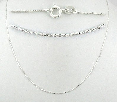 Sterling Silver jewelry chains