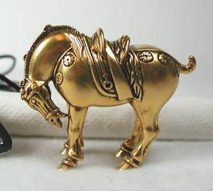 Vintage Horse Equestrian Jewelry Horse Pin Egyptian Horse