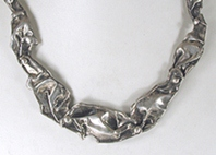 Sterling Silver Handmade Necklace