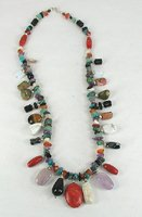 gemstone necklace 22 inches