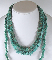 Bargain Barn lot of turquoise necklaces
