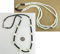 Bargain Barn two  necklaces