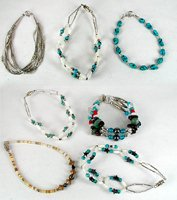Bargain Barn Lot of seven bracelets