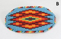Hand Beaded barrette