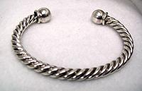 Native American Navajo Twist Bracelets Sterling Silver